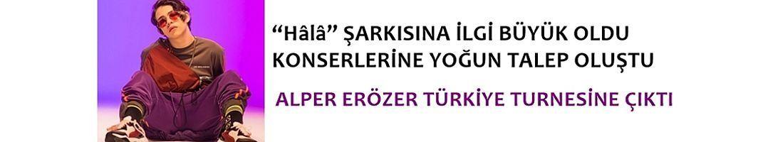 Alper Erözer Türkiye Turnesine Çıktı