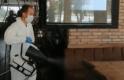 Kahvehane, kafe, lokanta ve restoranlar dezenfekte ediliyor