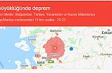 Manisa Valiliğinin Deprem Açıklaması