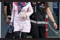 Fetö şüphelisi kadın yakalandı