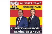 Türkiye'de İmamoğlu, Demirci'de Şenyurt