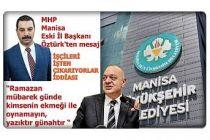 MHP Manisa İl eski Başkanı Öztürk'ten sert tepki