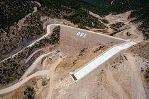 Kılavuzlar Barajı'nda işlem tamam