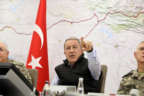 Bakan Akar ve Komutanlar Barış Pınarı Harekâtı'nı Sevk ve İdare Ediyor