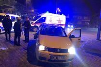 Bisiklet ve Otomobil çarpıştı 1 kişi yaralandı