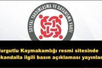 Turgutlu Kaymakamlığı Skandal olayla ilgili açıklama yaptı