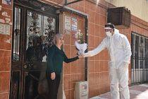 Koronavirüs tedavisi gören şahıs, evlilik yıldönümünde Şehzadeler Belediyesiyle eşine çiçek gönderdi