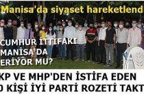 Cumhur İttifakı Eriyor mu? AKP ve MHP'den istifa eden 50 Kişi İYİ Parti'ye geçti