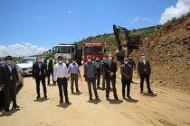Demirci'de Asfalt Çalışmaları Başladı!  Hedef 120 Kilometre