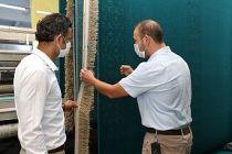Ayasofya'nın halıları asırlık tecrübeyle Manisa'nın Demirci ilçesinde dokunuyor