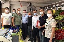 CHP'li Başevirgen Manisa Esnafını Dinledi : Borç Batağındayız