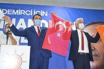 Mehmet Acar Demirci AK Parti İlçe Başkanlığına Yeniden Seçildi
