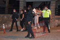 Demirci'de Gasp ve Fuhuş Ticareti Zanlısı 3 Kişi Tutuklandı