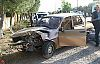 Akhisar Sındırgı yolunda trafik kazası 1 ölü 2 yaralı