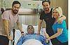 Cengiz Kurtoğlu Kıbrıs'ta hastaneye kaldırıldı