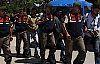 Demirci 'de darp ve gasp  eden 5 kişi tutuklandı
