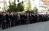 Demirci'de Muhtarlar Günü programına kriz damga vurdu