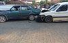 Demirci'de zincirleme kaza 1 yaralı