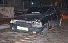 Demirci'deki kazada iki araç çarpıştı