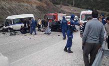 Selendi-Kula yolunda can pazarı 18 yaralı 4'ü ağır