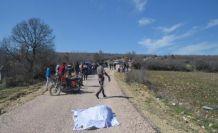 Selendi'de kaza 1 ölü 1 ağır yaralı