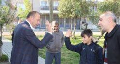 Başkan Akın Mustafa Kemal Mahallesi Taziye Evi İçin Düğmeye Bastı