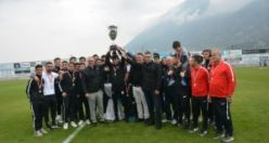 Şampiyon Kupasını Başkan Ergün'ün Elinden Aldı