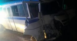 Demirci'de Servis Araçları Çarpıştı 12 Tarım İşçisi Yaralandı