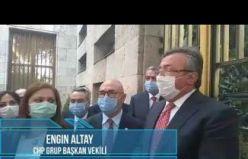 CHP'li vekillerden TBMM'de Protesto