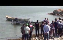 Gölmarmara gölünde kayıkla gezinti acı bitti 2 kişi boğularak can verdi