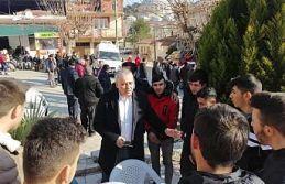 Bakırlıoğlu Deprem'den Hemen Sonra Köylerdeydi