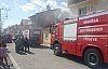 Demirci'de çıkan yangın vatandaşları heyecanlandırdı
