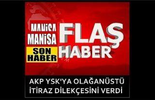 AKP YSK'ya olağanüstü itiraz dilekçesini...