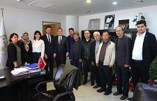 İYİ Parti İlçe Teşkilatı'ndan, Başkan Dutlulu'ya...