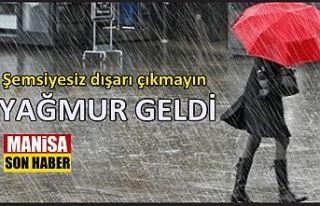 Şemsiyesiz çıkmayın, yağmur geldi