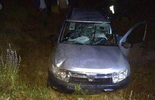 Demirci'de trafik kazası 2 kişi yaralandı