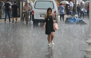 Gökgürültülü sağanak yağış geliyor
