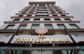 """YSK """"İstanbul Büyükşehir Belediye seçimi..."""