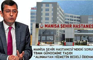 Manisa Şehir Hastanesinde Alınmayan Hizmetin Bedeli...