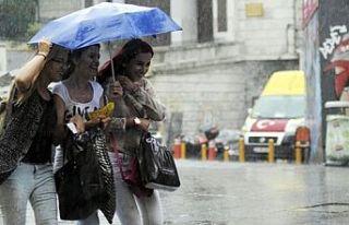 Sağanak yağış için uyarı yapıldı