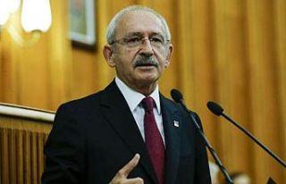 CHP Genel Başkanı Kemal Kılıçdaroğlu, partisinin...