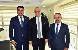Demirci'den Başkan Ergün'e Teşekkür...