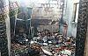 Demirci Bozcaatlı'da yangın çıktı