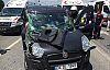 Halk otobüsü ile otomobil çarpıştı: 1 Ölü,...