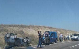 Konvoyda meydana gelen kazayla düğün zehir oldu 1 ölü 5 yaralı