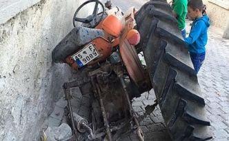 Traktör kazası 1 ölü