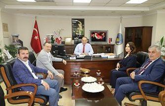 CHP İl Başkanı Balaban'dan Başkan Akın'a Hayırlı Olsun Ziyareti