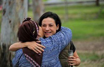 Anneler Pamucak'ta Buluştu
