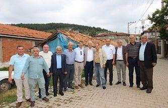 Başkan Bilgin, Bardakçı'da Hayır Yemeğine Katıldı