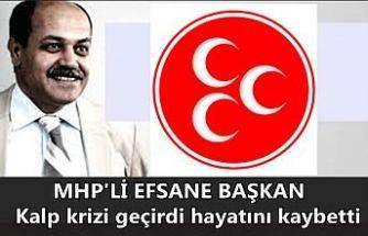 MHP Eski İl Başkanı Ziya Elmalı kalp krizinden can verdi